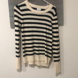 striped women's sweater